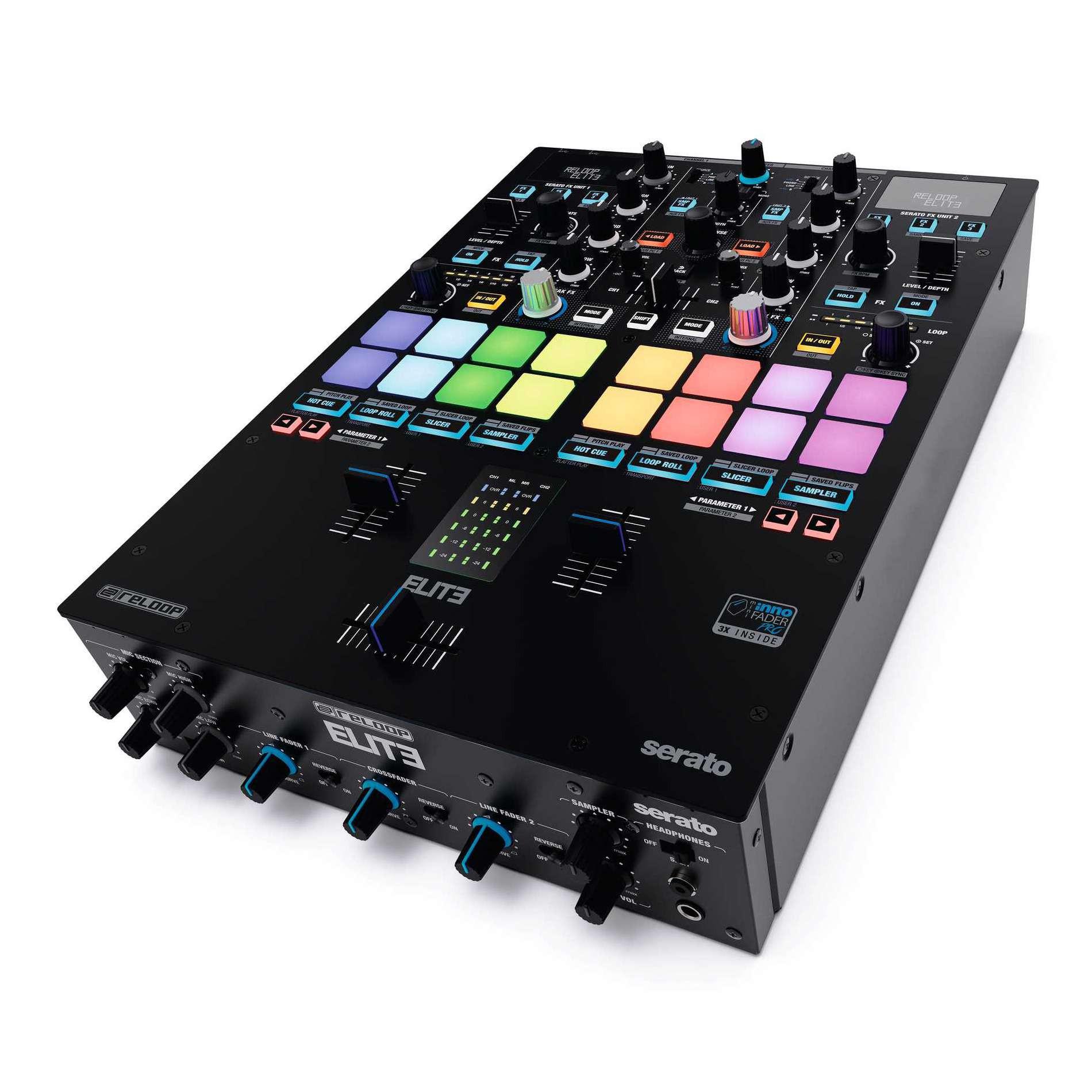Elite mixage dj 2 3 voies tables de mixage dj dj - Meuble pour table de mixage ...